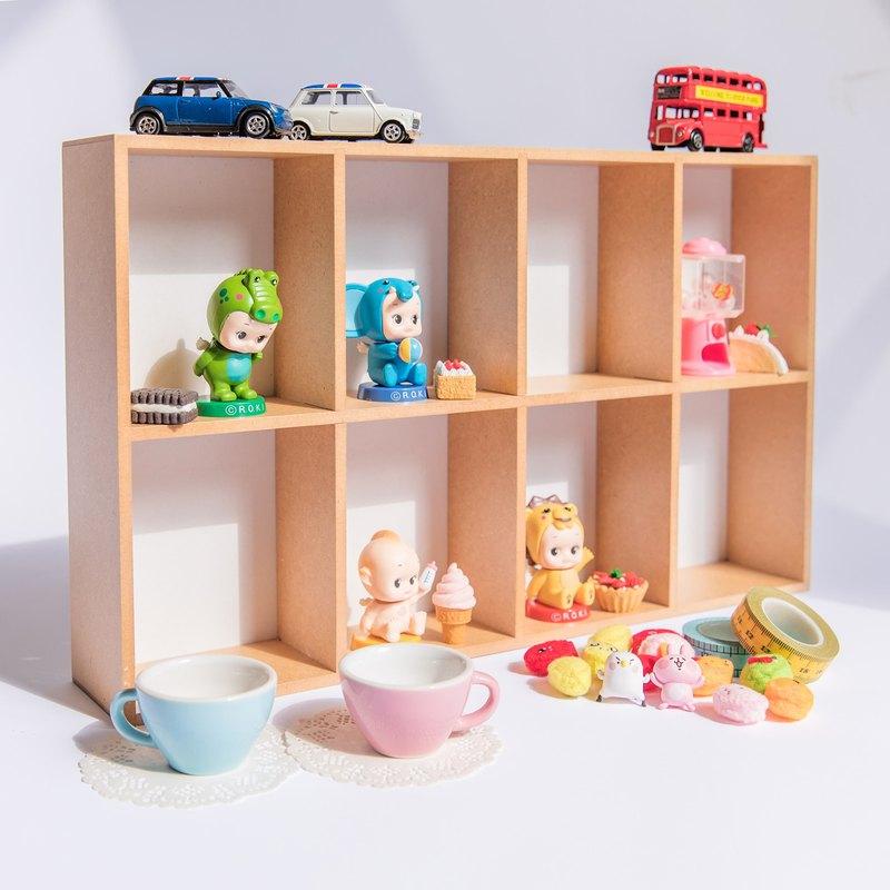 【8格收納盒】展示盒 桌上收納