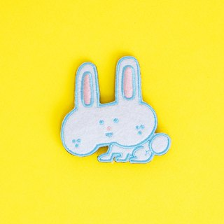 Embroidered Pins - Rabbit