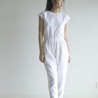 jumpsuit / linen pants / overall shorts / handmade pants / pant for women E30P