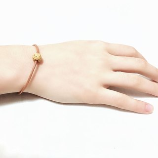 Yellow Lava Bead Diffuser Thin Light Brown Leather Bracelet with Extend Chain