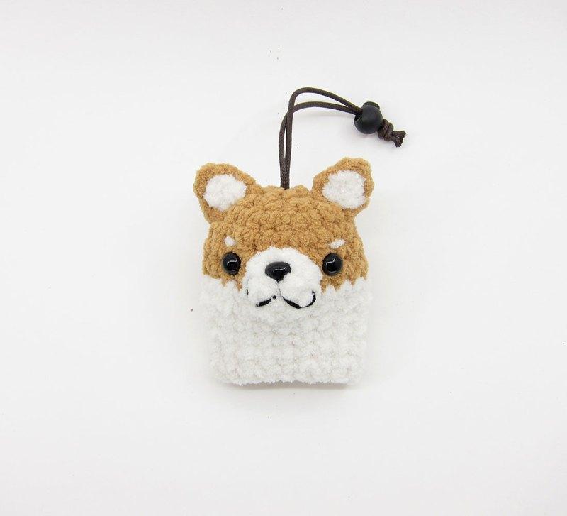 柴犬(小)-鑰匙包-鑰匙套