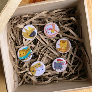 Box Pawty Mini Badges - Full Set