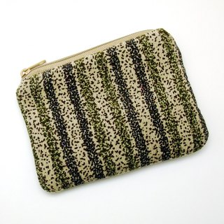 Zipper pouch / coin purse (padded) (ZS-255)