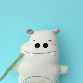 Hippo stomach belly / theory theory small role utterance embroidery cloth dolls