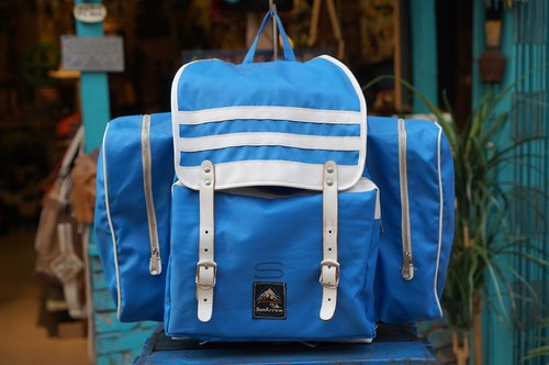 "EARTH.er :: Vintage Series :: │ 80 years ""SunArrow"" light-weight backpack ● 80's JAPAN ""SunArrow"" Hiking Backpack │"