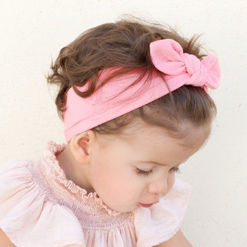 US Joli Sophie bow hair ribbon into 2 groups - Purple KIKI LALA JSHB2PPKL