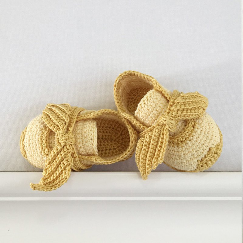 Bow Baby Booties, Girl Crochet Shoes, Socks, Sneaker, Boots, Footwear for Kids