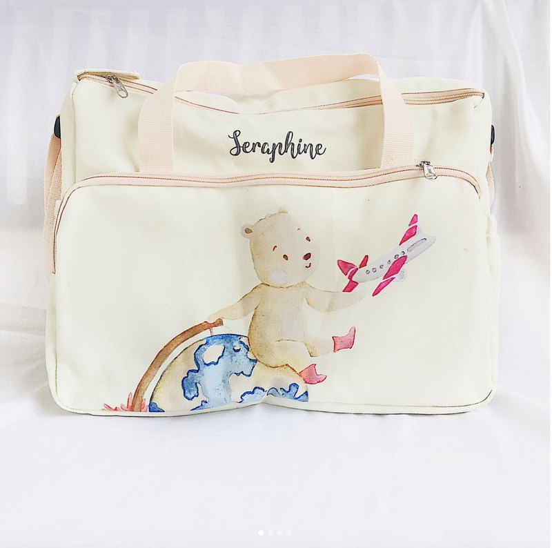 Around the world Baby Bag