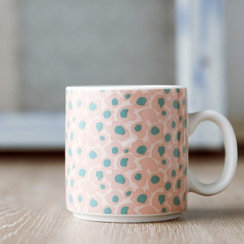 "Tea time. Me time ""soft powder"" new bone china cup 