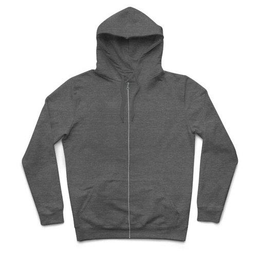 Hooded Zip Jacket - gray heather