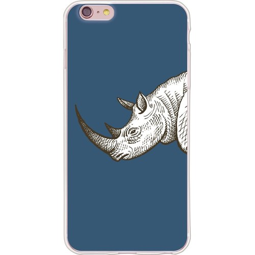 New Designer - 【Wild Rhino】 -TPU Phone Case <iPhone / Samsung / HTC / LG / Sony / Millet> *