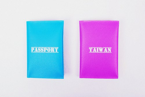 TAIWAN PASSPORT --- loving Passport Case (2 in)