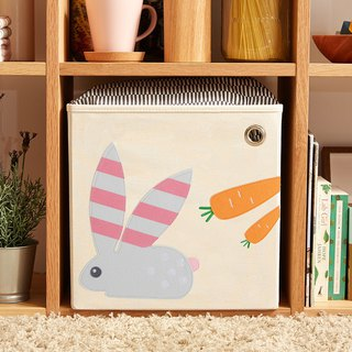 American kaikai & ash Toy Storage Box - Stripe Rabbit