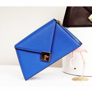 [Hong Kong, Macao and Taiwan] MBS Sugi made heart lock irregular design trapezoidal shoulder bag leather Messenger bag