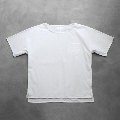 Seamless short sleeve cotton cut saw [unisex size 3]