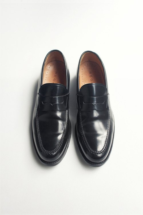 Nippon thick leather loafers | Regal Penny Loafer JP 27 EUR 43