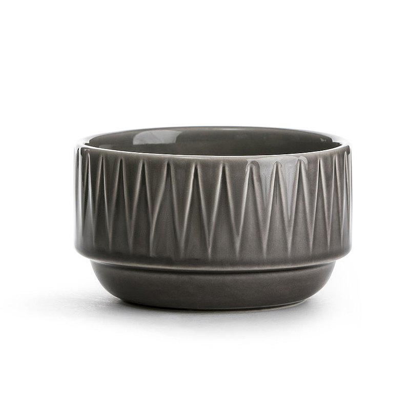 Coffee & More Bowl-Grey