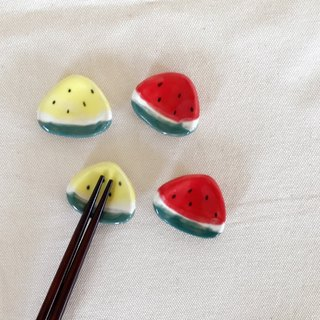Hand-made watermelon chopsticks frame