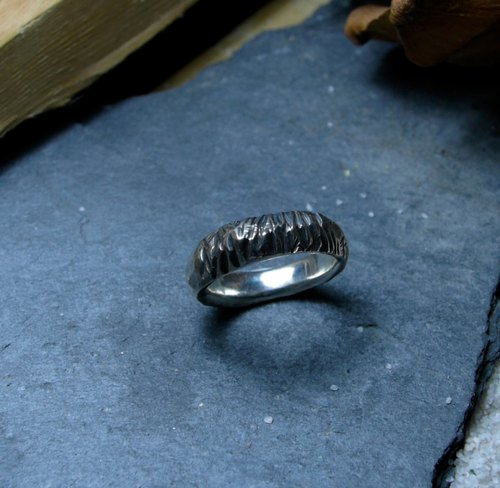 Mountains / Silver925 / Silver / irregular / hand ring / Ring