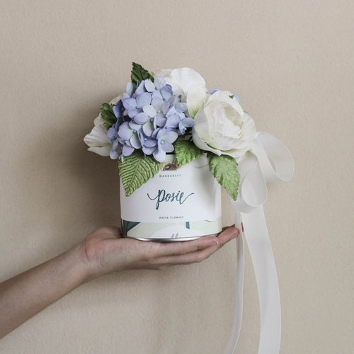 Wild Flower Gift Box, Little Sky Blue.