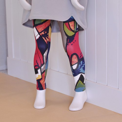 Leggings (7-10 years old) within Ángeles- impression printing