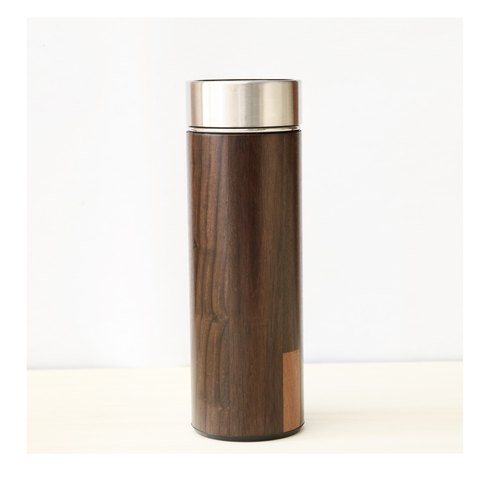 汋 drink thermos bottle. Rosewood 330ML insulation, cold 12H- three-year warranty