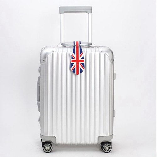 National flag series tie luggage tag 01.UK