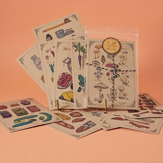 Vintage Lifestyle 10 Postcards Set