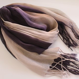 Easy to dye isvara and wood and dye pure cotton with a sheer scarf for a pure se