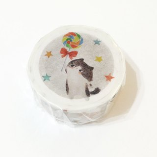 Cat Paper Tape 20mm - Candy