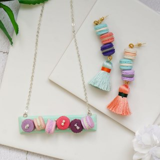Goody Bag - Macaron Necklace + Earrings