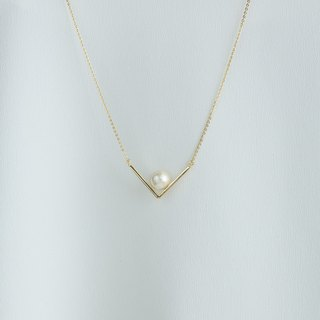 [Code  series] -Kismet cotton pearl necklace