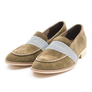 ARGIS Japan Metropolitan Yale Lok Fu Shoes #31111墨绿-日本手工制