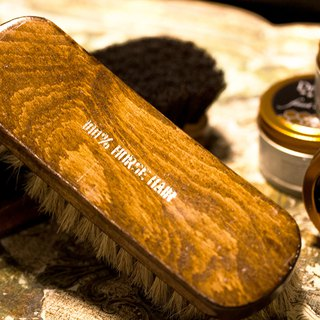 ITA BOTTEGA【Made in Italy】100% Horse Hair Shoe Brush