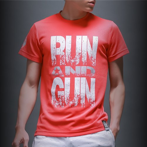 The Run & Gun T_ quantum red