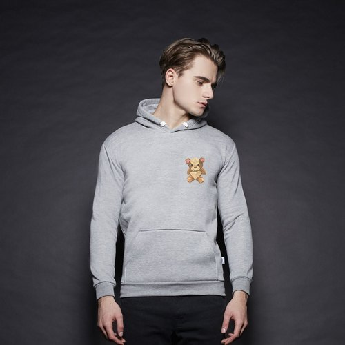 British Fashion Brand [Baker Street] Teddy Bear Printed Hoodie