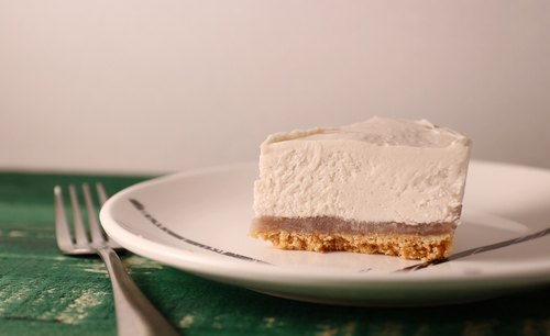 Six-inch taro milk cheese cake - DIY ingredients combination