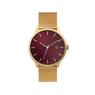 Nando Gold Dial - Gold Milan Adjustable Watch