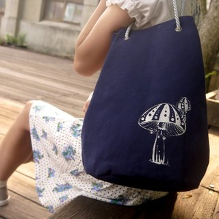 [Clown] mushroom sandbags round beam port bag / handbag / shoulder bag