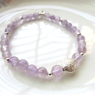 [Spring Language] Lavender Purple Jade (Amethyst) x 925 Silver Jewelry - Hand-made Natural Stone Series