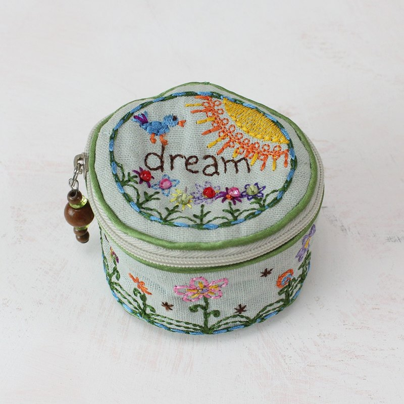 Embroidered Jewelry Box-Dream│BAG007