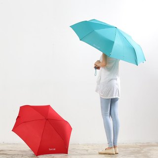 [Taiwan's Creative Rain's talk] classic anti-UV tri-fold large automatic umbrella