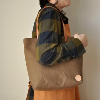 HB08 in canvas bag - taupe