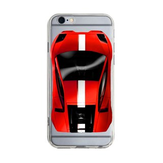 Custom red sports car transparent Samsung S5 S6 S7 note4 note5 iPhone 5 5s 6 6s 6 plus 7 7 plus ASUS HTC m9 Sony LG g4 g5 v10 phone shell mobile phone sets phone shell phonecase