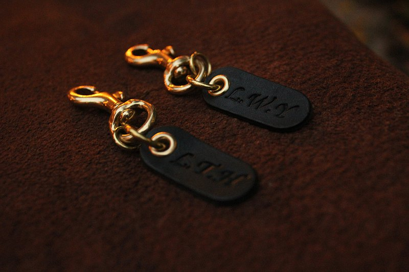 黃銅小鑰匙圈