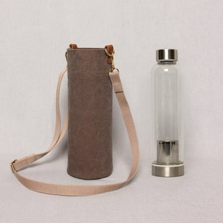 Kettle bag beverage bag mug bag wine bag - mocha color