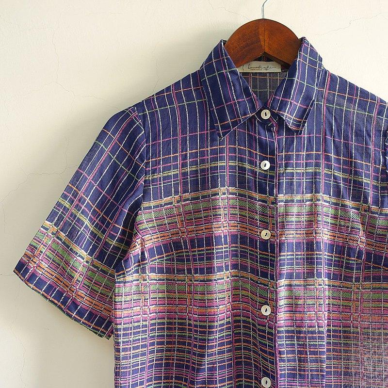 Slowly古著/Vintage/夜空/古著襯衫/日本製