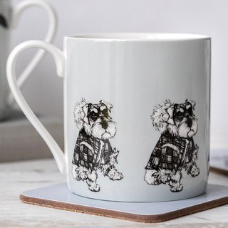 SUSS-Exclusive Agent Gillian Kyle Schnauzer/Snatha Totem Mug - Spot