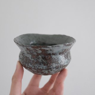 vessel / gray glaze bowl (large)
