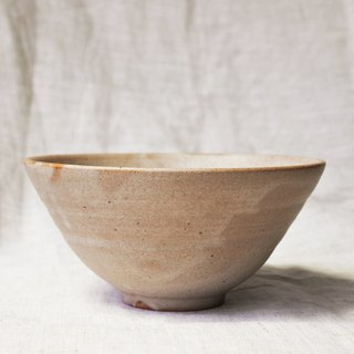 Light brown glaze small bowl _ deep type